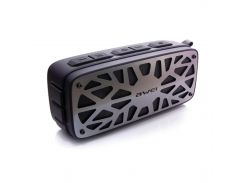 Беспроводная акустика AWEI Y330 BT Black-grey блютуз колонка