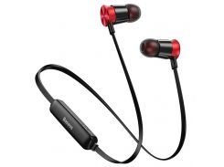 Беспроводные наушники Baseus Encok Sports Wireless Earphone S07 Red+black (NGS07-19)