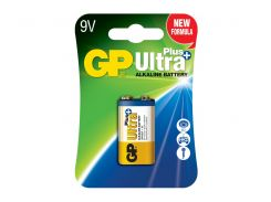 Батарейка GP Alkaline Plus Ultra 1604 C1 крона / БЛ1 (1604AUP-U1)