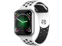Смарт часы F8 алюминиевый корпус Smart watch белый