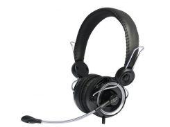 Мультимедийная гарнитура ERGO VM-260 Black наушники с микрофоном