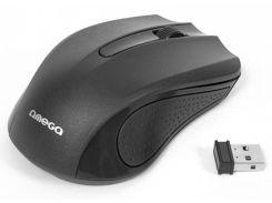 Мышь компьютерная беспроводная Omega Wireless OM-419  black
