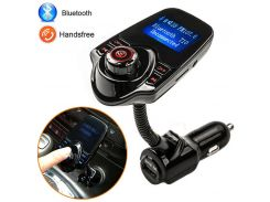 Беспроводной ФМ модулятор T10 Modulator FM Bluetooth   Black