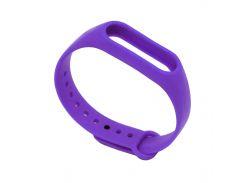 Ремешок для фитнес браслета Xiaomi Mi Band 2 фиолет