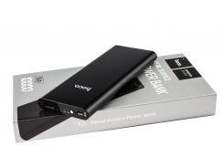 Внешний аккумулятор Power Bank Hoco B16 Metal 10000mah Black
