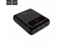 Внешний аккумулятор Power Bank Hoco B20 10000 mAh LCD дисплей Black