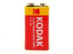 Батарейка KODAK EXTRA HEAVY DUTY 6F22   1 шт.