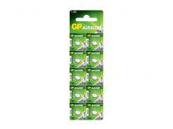 Батарейка GP час Alkaline AG3, LR41  V392 (192-U10, LR41) C10  блист1*10шт