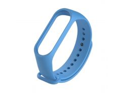 Ремешок для фитнес браслета Xiaomi Mi Band 3 \ 4 синий