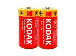 Батарейка Kodak EXTRA HEAVY DUTY R14 ваку.уп. 1x2 шт.