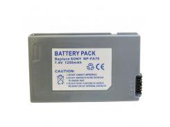 Аккумулятор для Sony NP-FA70, Li-ion, 1250 mAh