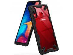 Чехол Ringke Fusion X для Samsung Galaxy A20 Black (RCS4521)