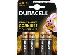Батарейка Duracell LR06 MN1500 БЛ1x4 шт.