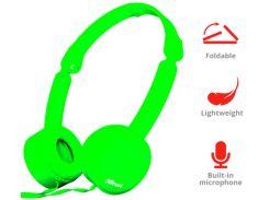 Гарнитура наушники Trust Nano Foldable Headphones Green