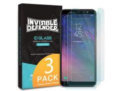 Защитное стекло Ringke Premium Tempered Glass для Samsung Galaxy A6 Plus