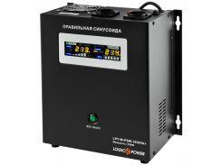 ИБП с правильной синусоидой LogicPower LPY-W-PSW-1000VA + (700W)10A/20A 12V для котлов и аварийного освещения