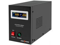 ИБП с правильной синусоидой LogicPower LPY-B-PSW-1500VA+(1050W) 10A/15A 24V для котлов и аварийного освещения