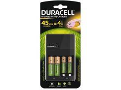 Зарядное устройство Duracell CEF14 + 2 аккумуляторы AA1300mah + 2 аккумуляторы AAА750 mah