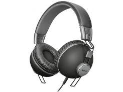 Наушники гарнитура Trust Noma Headphones Matte Black