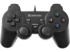 Игровой манипулятор геймпад Defender Omega USB (64247)  джойстик проводной
