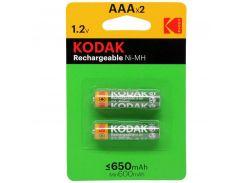 Аккумулятор Kodak Ni-MH R03 \ ААА  650mAh БЛ1x2шт.