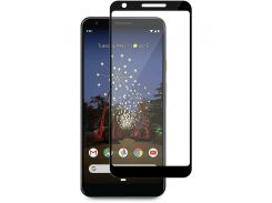 Защитное стекло Full screen PowerPlant для Google Pixel 3a XL, Black
