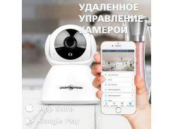 Беспроводная поворотная IP камера Greenvision GV-089-GM-DIG20-10 PTZ 1080p WIFI (7812)