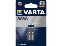 Батарейка  Varta AAAA \ LR61 BL2 1.5V, Alkaline Щелочная