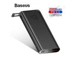 Зовнішній акумулятор Baseus Starlight Digital Display Quick Charg Power Bank 20000mAh 22.5W (PPXC-01)
