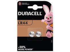 Батарейка DURACELL LR44 / А76 / V13GA / A76 / AG13 БЛ 1x2 шт.
