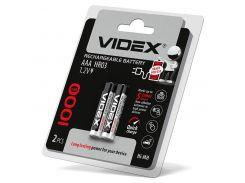 Акумулятори Videx HR03 / AAA 1000mAh double blister/2шт