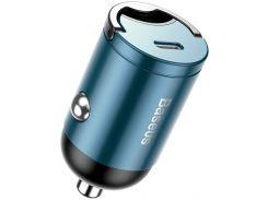 Автомобільний зарядний пристрій Baseus Tiny Star Mini PPS Car Charge Type-C Port 30W Blue(VCHX-B03)