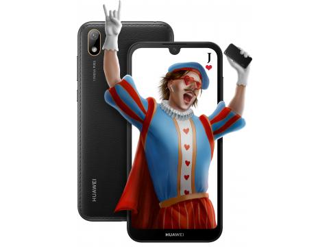 Смартфон HUAWEI Y5 2019 2/16GB Black (51093SHA)