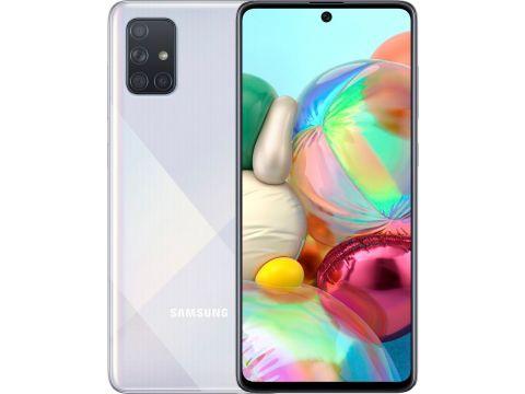 Смартфон SAMSUNG Galaxy A71 6/128GB Silver (SM-A715FZSUSEK)