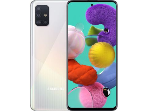 Смартфон SAMSUNG Galaxy A51 6/128GB White (SM-A515FZWWSEK)
