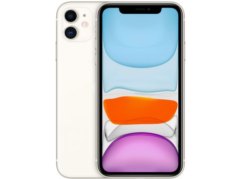 Смартфон APPLE iPhone 11 64GB White (MWLU2)
