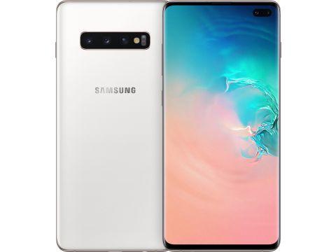 Смартфон SAMSUNG Galaxy S10 Plus 8/128GB Ceramic White (SM-G975FCWDSEK)