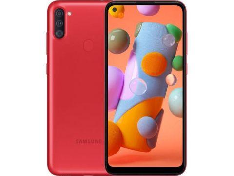 Смартфон SAMSUNG Galaxy A11 2/32GB Red (SM-A115FZRNSEK)