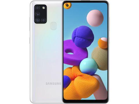 Смартфон SAMSUNG Galaxy A21s 3/32GB White (SM-A217FZWNSEK)