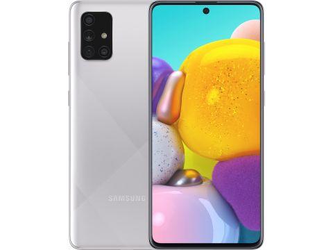 Смартфон SAMSUNG Galaxy A71 6/128GB Metallic Silver (SM-A715FMSUSEK)