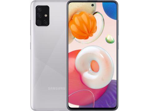 Смартфон SAMSUNG Galaxy A51 6/128GB Metallic Silver (SM-A515FMSWSEK)