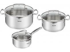 Набор посуды TEFAL Duettо+ 6пр (G719S674) 1,5+2,9+5