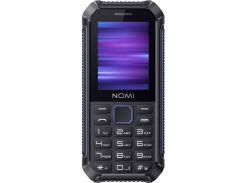 Мобильний телефон Nomi i245 X-Treme Black-Blue