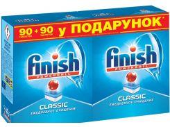 Таблетки для посудомоечных машин FINISH Classic 90 + 90 шт.