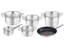 Набор посуды TEFAL Simpleo 11 предметов (B815SB74)