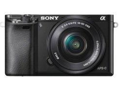 Фотоаппарат SONY Alpha 6000 kit 16-50mm Black (ILCE6000LB.CEC)