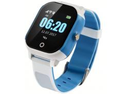 Часы детские GOGPS К23 White/Blue