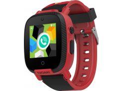 Смарт-часы детские NOMI Kids Transformers W2s Red