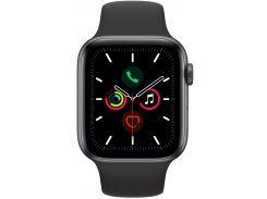 Смарт-часы Apple Watch Series 5 GPS 44mm Grey Aluminium Case Sport Band (MWVF2)