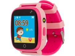 Часы детские AmiGo GO001 iP67 Pink